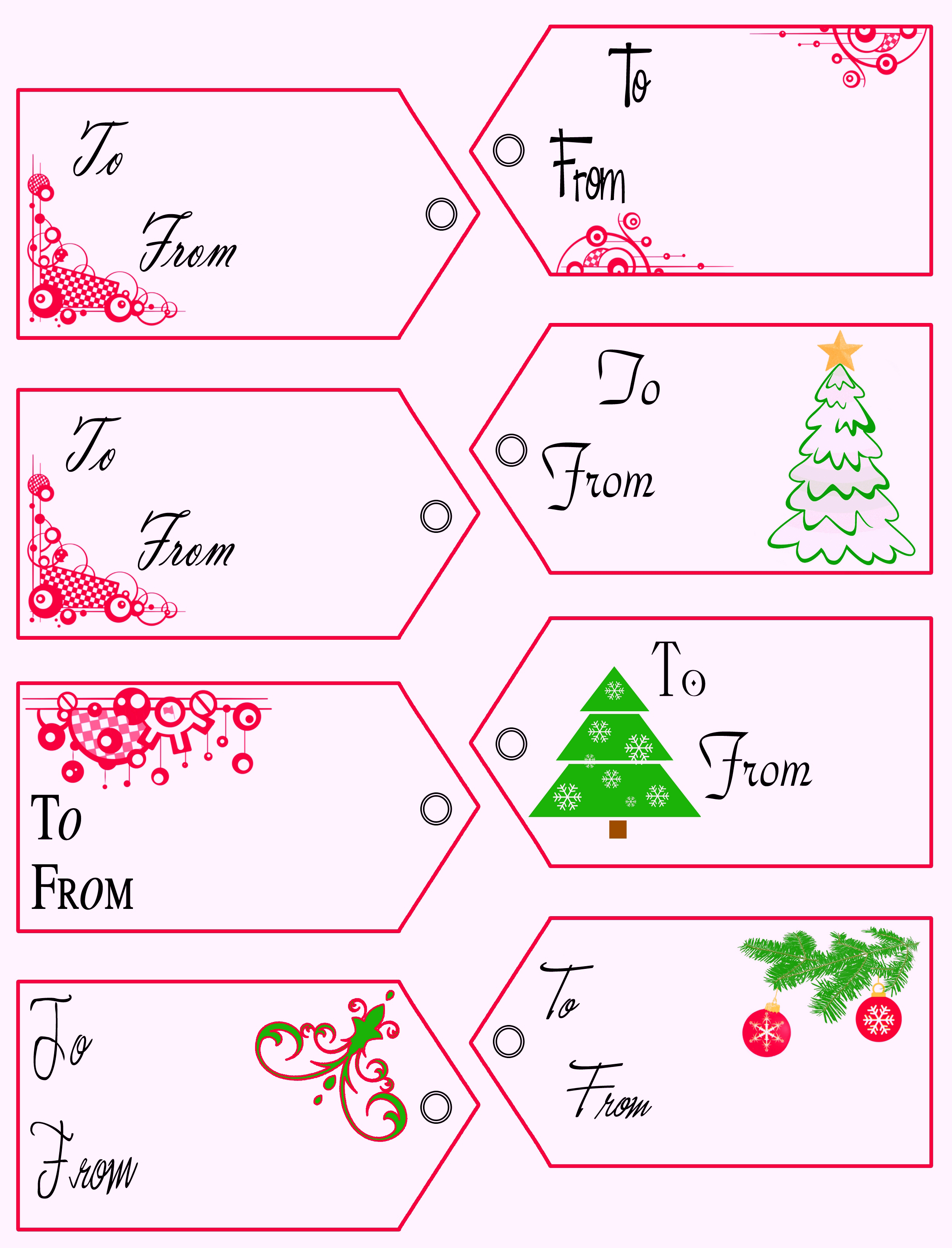printable gift tags templates paper worksheets calendar templates