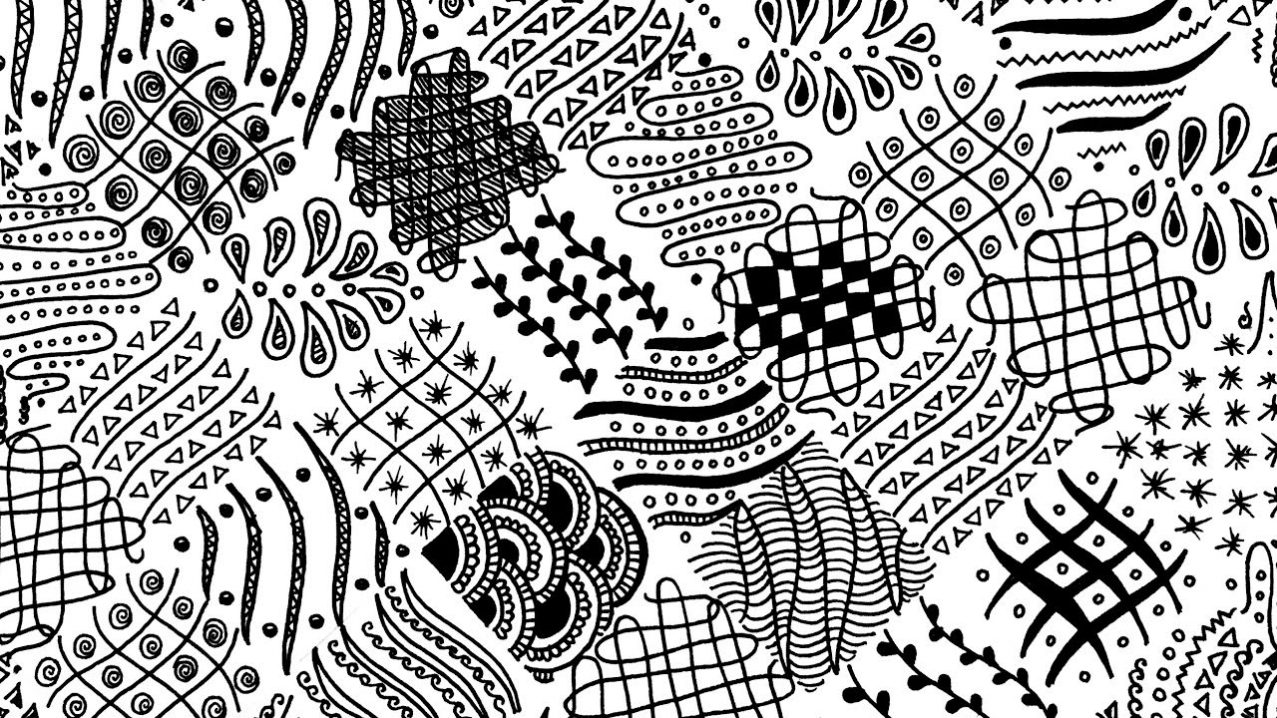 Zentangle Patterns for Beginners